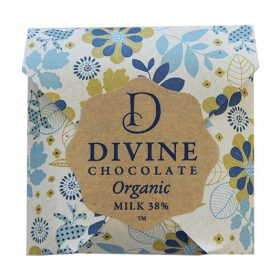Divine Organic Chocolate Milk 38% NZ New Zealand 800w