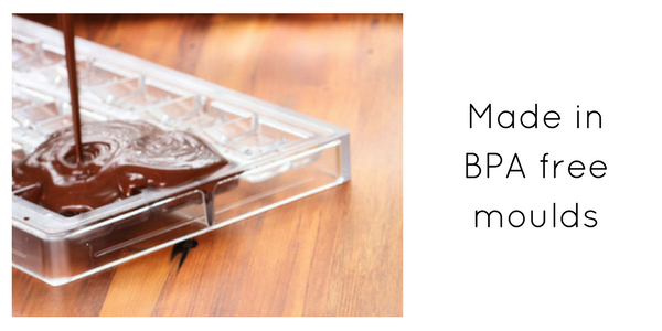 Made in BPA free moulds