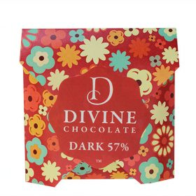 Dark 57 flowers800w white Divine Chocolate