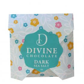 Dark with Sea salt Divine Chocolate 800w