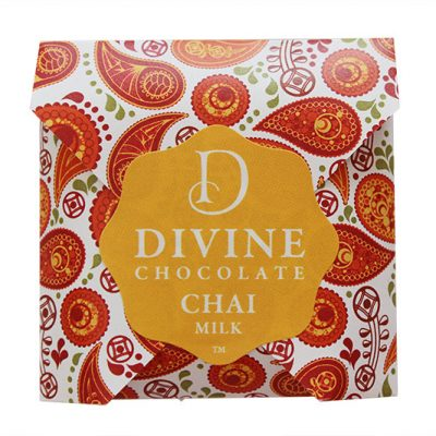 Divine Chocolate New Zealand NZ MILK chai 800w