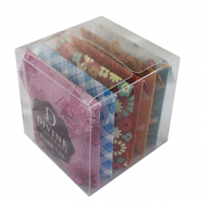 Divine Chocolate as a gift - in a cube