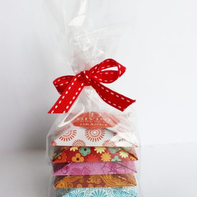Divine Chocolate as gift - cellophane gift pack