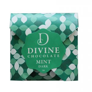 Mint chocolate geometric